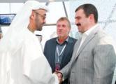 Витя Лукашенко ездил в ОАЭ на гонки Формулы-1