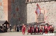 У Лідскім замку адзначылі 227-ю гадавіну Канстытуцыі Рэчы Паспалітай