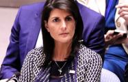 Никки Хейли: Мы готовы ответить на новые химатаки Асада