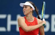 Теннисистка Вера Лапко вышла на матч в цветах национального флага