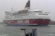 В Балтийском море сел на мель финский паром