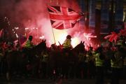 Полиция задержала 11 сторонников и противников независимости Шотландии