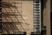 На новой резиденции Лукашенко появляются загадочные буквы
