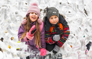 В минском Ботаническом саду открылся фестиваль ледяных скульптур