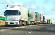 Вторые сутки на выезд из Беларуси - большие очереди грузовиков