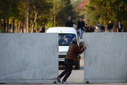 Болгарские охотники на беженцев начали строительство забора на границе с Турцией