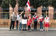Бельгия и Франция отметили День солидарности с Беларусью