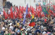В Вильнюсе состоялось массовое праздничное шествие