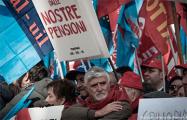 В Риме 200 тысяч человек выступили против экономических мер правительства