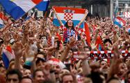 Как хорваты праздновали победу над Россией