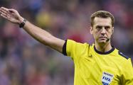 Белорусский арбитр назначил три пенальти в матче Лиги чемпионов