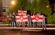 Свободные жители Кличева, Ивацевичей и Ракова вышли на улицы