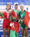 Белорусские экипажи завоевали две медали на чемпионате мира по академической гребле в Болгарии