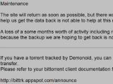 Торрент-трекер Demonoid возобновил работу