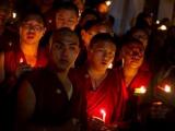 Житель Тибета совершил самосожжение