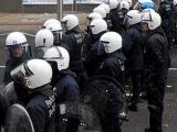 В ходе беспорядков в Брюсселе пострадали девять полицейских