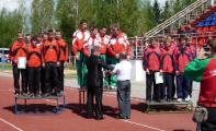 Спасатели Гомельской области победили в международном турнире по пожарному спорту