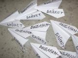 В Зельве бумажные самолетики призывали к бойкоту (Фото)