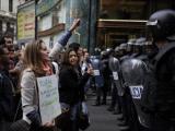 Мадридская полиция применила резиновые пули против демонстрантов