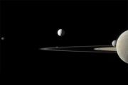 Определен размер крупнейшего планетного кольца в Солнечной системе
