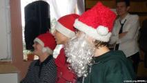 Подпольный лицей отметил Рождество (Видео)