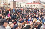 Год назад тысяча оршанцев вышла на центральную площадь