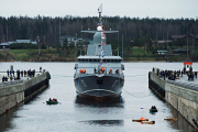 Ракетный корабль «Тайфун» спущен на воду