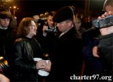 Белорусы борются за свободу политзаключенных (Фото, видео)