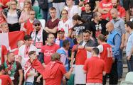 После задержаний на матче сборной Беларуси фанаты начали петь «Воины света»