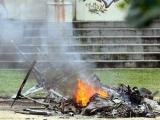 В Рио-Де-Жанейро наркодельцы сбили полицейский вертолет