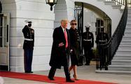 Трамп и его супруга Меланья покинули Белый дом