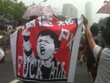 В Китае из-за протестов закрыли химзавод