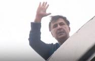 Появилось видео, как Саакашвили снимали с крыши