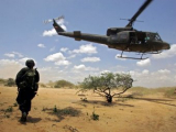 Восемь колумбийских полицейских разбились в вертолете