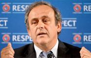 Платини снял свою кандидатуру с выборов президента FIFA
