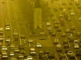 Пыльная буря накрыла Пекин