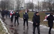 Серебрянка вышла на протестный марш