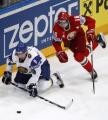 Гости одержали победы в четырех из пяти матчей очередного тура чемпионата Беларуси по хоккею