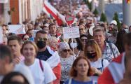 «Не забудем, не простим!»: как в Гомеле прошел многотысячный марш, несмотря на жару +32