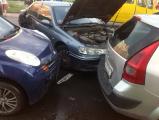 В Гомеле столкнулись пять авто