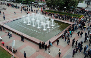 Гомельчанка на акции Тихановского «Стоп таракан»: Белорусы, просыпайтесь!