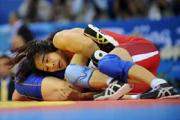 Залина Сидакова завоевала серебро на чемпионате мира по вольной борьбе среди женщин в Канаде