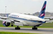 Российские самолеты облетают Украину над Беларусью за отдельную плату