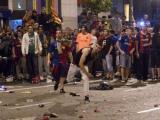 """Болельщики отметили победу """"Барселоны"""" беспорядками"""