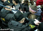 В Минске разогнана акция «Маладога Фронта» «За независимость!» (Обновлено, фото, видео)