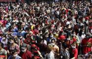 Акции протеста в Мьянме вспыхнули с новой силой в воскресенье