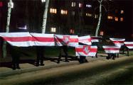 Белорусы вышли на вечерние акции и марши