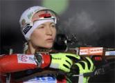 Дарья Домрачева получила «бронзу» в масс-старте