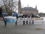 Белорусы пикетировали здание Совета Европы (Фото)