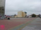 На центральной площади Глубокого провалилась плитка (Фото)
